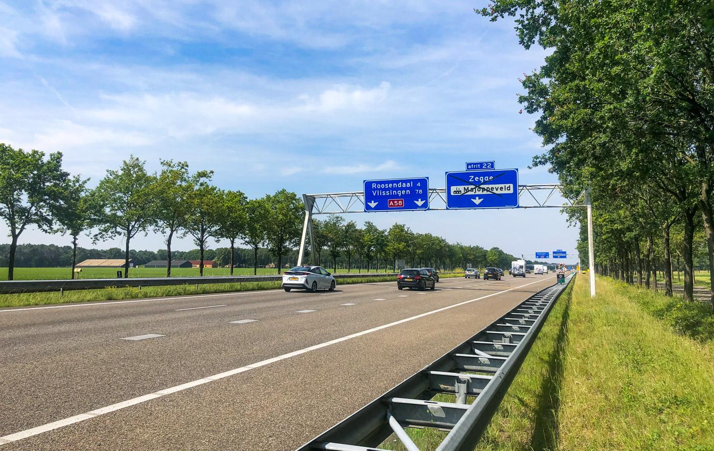 Met de auto naar Roosendaal