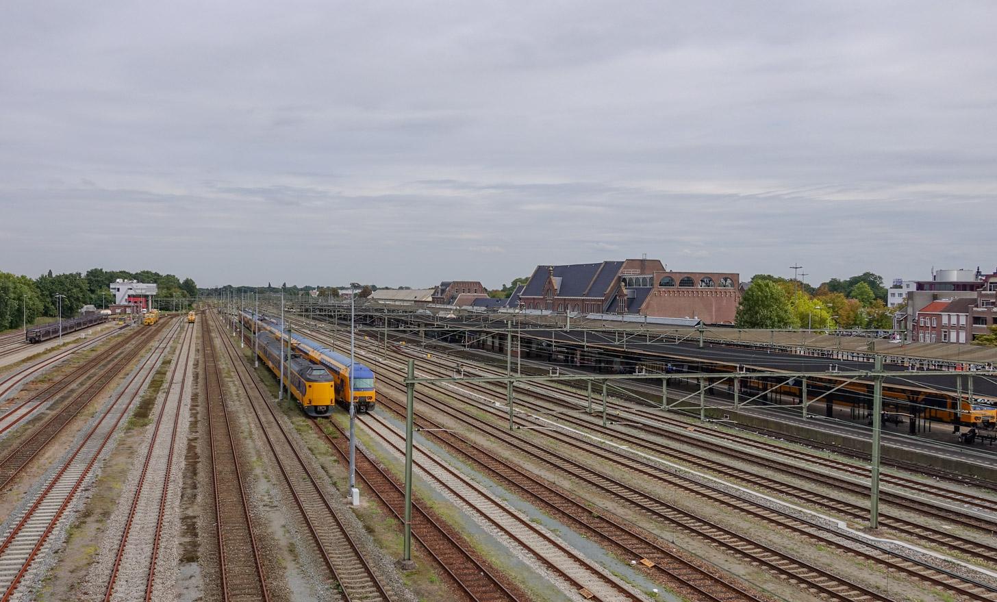 Met de trein naar Roosendaal