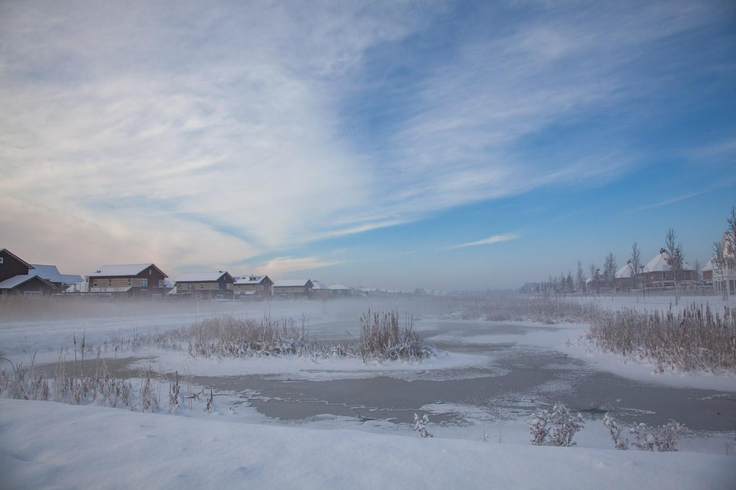 gematigde winters